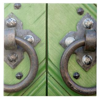 Old door tile
