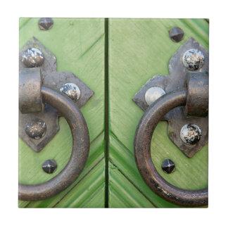 Old door tiles