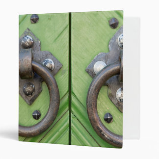 Old door vinyl binder