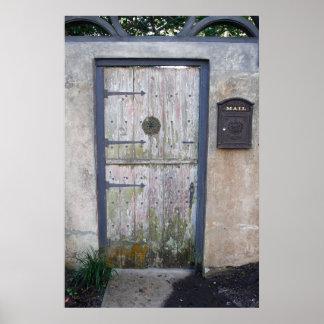 Old Doorway Poster