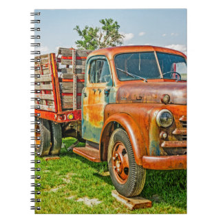 Old Dually - Truck - Rusty Notebook