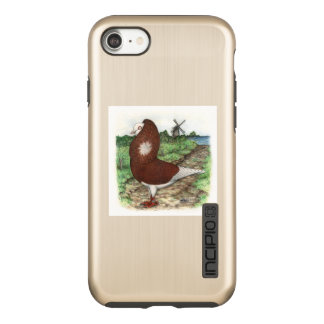 Old Dutch Capuchine Pigeon Incipio DualPro Shine iPhone 8/7 Case