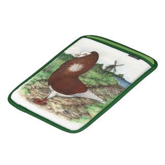 Old Dutch Capuchine Pigeon iPad Sleeve
