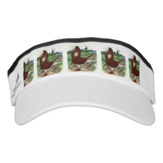 Old Dutch Capuchine Pigeon Visor