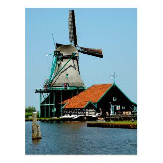 Old Dutch Windmill Postcard