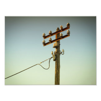 Old Electricity Photo Print