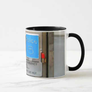 Old Emergency Call Box Mug