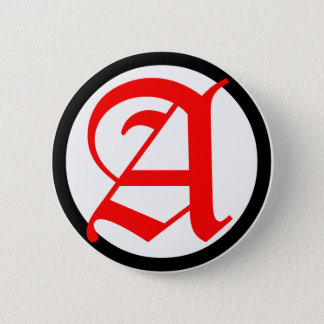 Old English Anarchy A 2 Inch Round Button