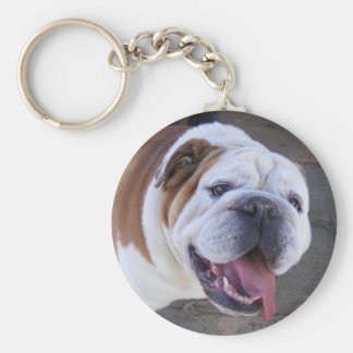 Old English Bulldog Keychain