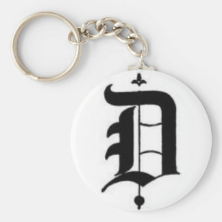 Old English D Key Chain