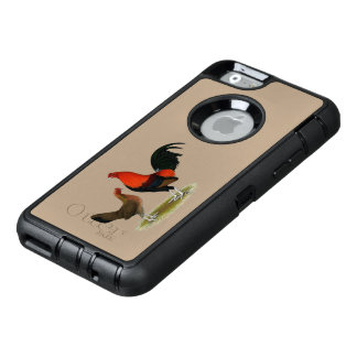 Old English Game Bantams:  BB Red Pair OtterBox Defender iPhone Case