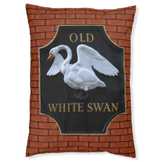 Old English Pub Sign Pet Bed