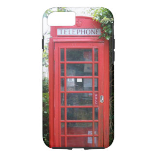 Old English Red Telephone Box iPhone 8/7 Case