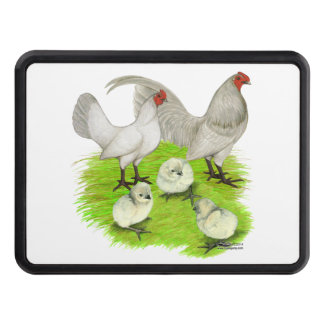 Old English Self Blue Bantam Family Trailer Hitch Covers
