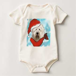 Old English Sheep Dog Baby Bodysuit