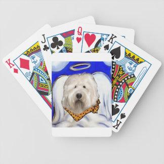 Old English Sheep Dog Bicycle Playing Cards