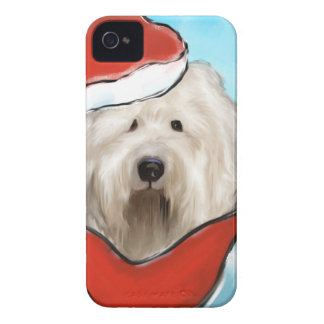 Old English Sheep Dog iPhone 4 Case-Mate Cases