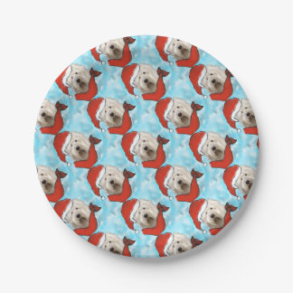Old English Sheep Dog Paper Plate