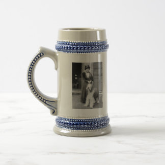 Old English Sheepdog, 1915 18 Oz Beer Stein