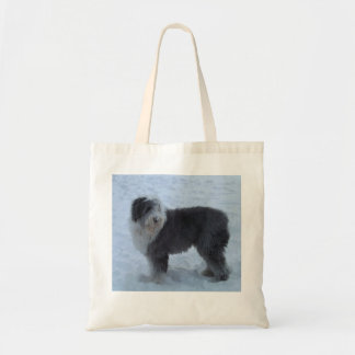 Old English Sheepdog Bag - Snow Dog!