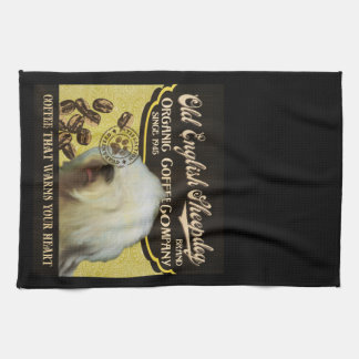 Old English Sheepdog Brand – Organic Coffee Compan Kitchen Towel