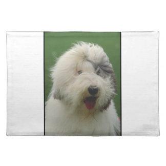 Old English Sheepdog Dog Placemat