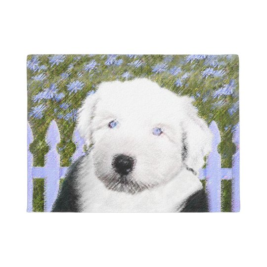 Old English Sheepdog Doormat