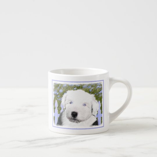 Old English Sheepdog Espresso Cup