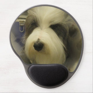 Old English Sheepdog Gel Mouse Pad