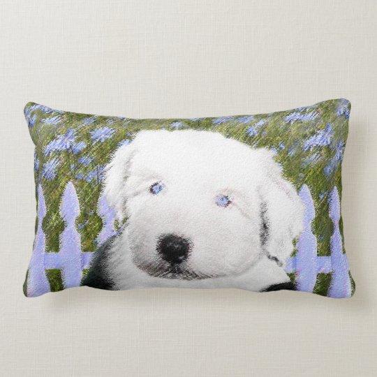 Old English Sheepdog Lumbar Pillow