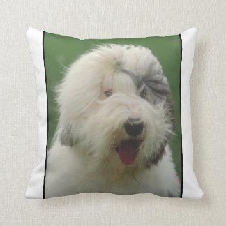 Old English Sheepdog Pillow