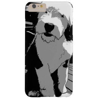 Old English Sheepdog Sketch Barely There iPhone 6 Plus Case