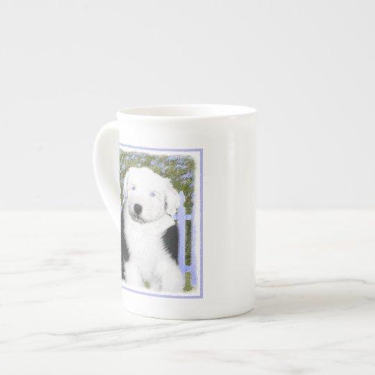 Old English Sheepdog Tea Cup