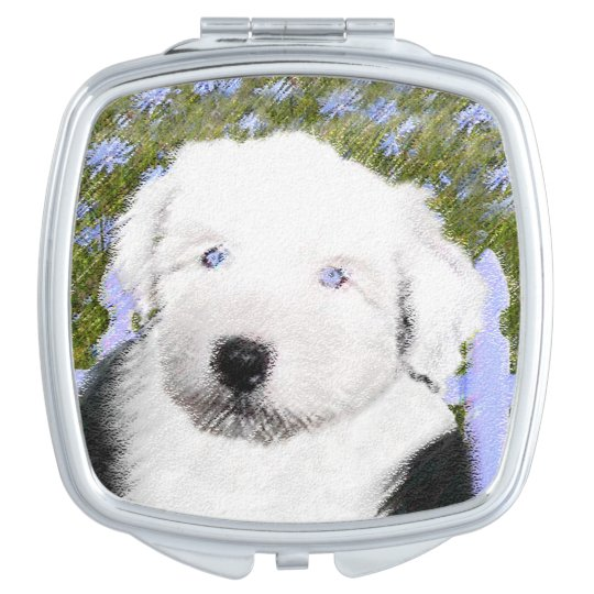 Old English Sheepdog Vanity Mirrors