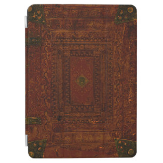 Old Engraved Leather And Brass iPad Air Cover