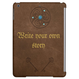 Old fairytale book, write your own message cover for iPad air