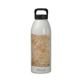 Old Family Recipes Reusable Water Bottle