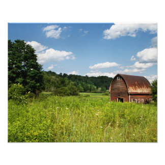 Old farm barn art photo