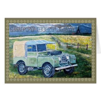 Old Farm Truck Card