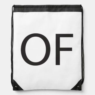 Old Fart ai Drawstring Bags
