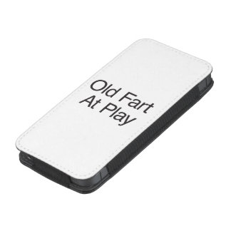 Old Fart At Play.ai iPhone Pouch