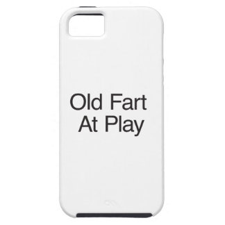 Old Fart At Play iPhone 5 Cases