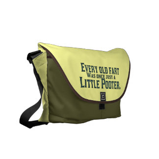 Old Fart - Little Pooter Commuter Bags