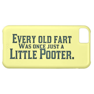 Old Fart - Little Pooter iPhone 5C Cover