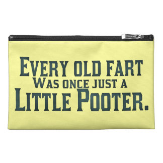 Old Fart - Little Pooter Travel Accessory Bags