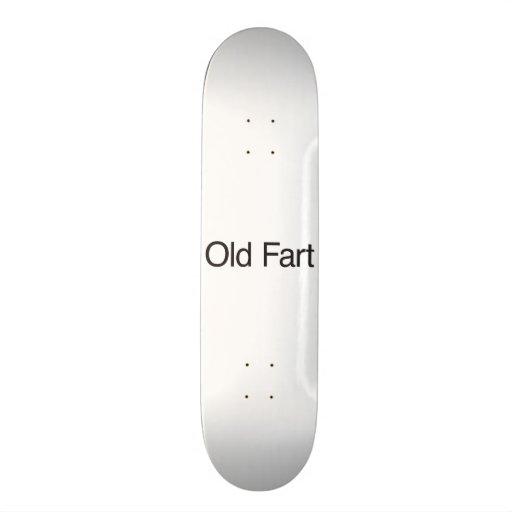 Old Fart Skate Board Deck