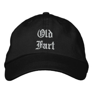 Old Fart wool cap -- black