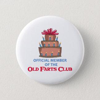 OLD FARTS CLUB 2 INCH ROUND BUTTON