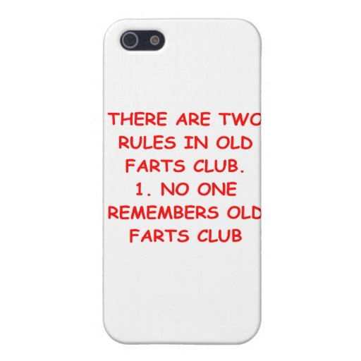 old farts club iPhone 5 cases