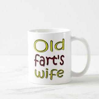 Old Fart's Wife Funny Coffee Mug